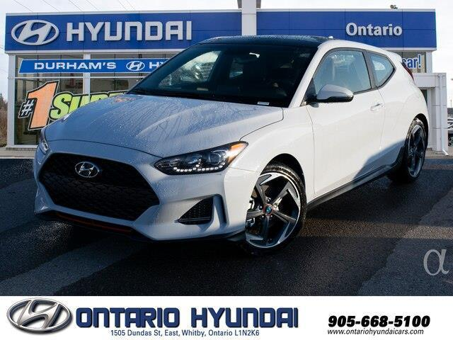 2020 Hyundai Veloster Turbo (Stk: 025150) in Whitby - Image 1 of 20
