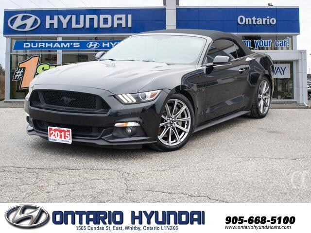 2015 Ford Mustang GT Premium (Stk: 72911K) in Whitby - Image 1 of 17