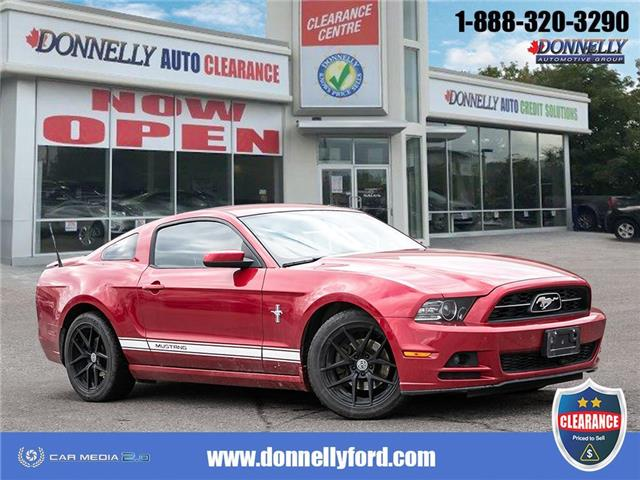 2013 Ford Mustang V6 Premium (Stk: CLDS1384B) in Ottawa - Image 1 of 27