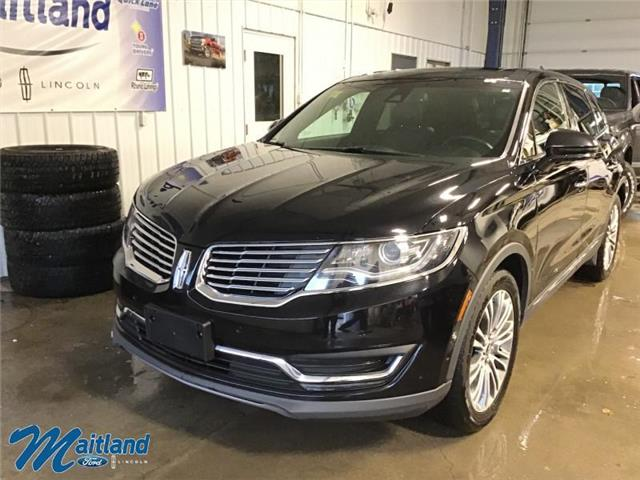 2016 Lincoln MKX Reserve (Stk: 93975) in Sault Ste. Marie - Image 1 of 30