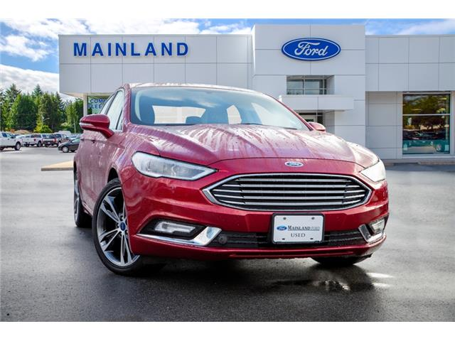 2017 Ford Fusion Titanium (Stk: P5940) in Vancouver - Image 1 of 27