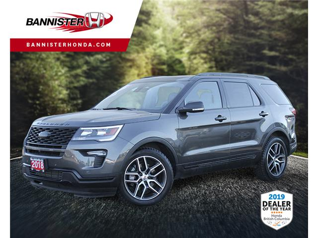 2018 Ford Explorer Sport (Stk: 19-331A) in Vernon - Image 1 of 16