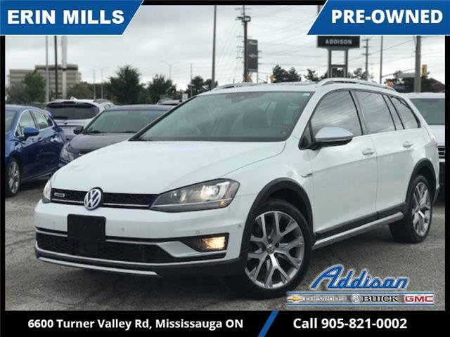2017 Volkswagen Golf Alltrack 1.8 TSI (Stk: UM07934) in Mississauga - Image 1 of 18