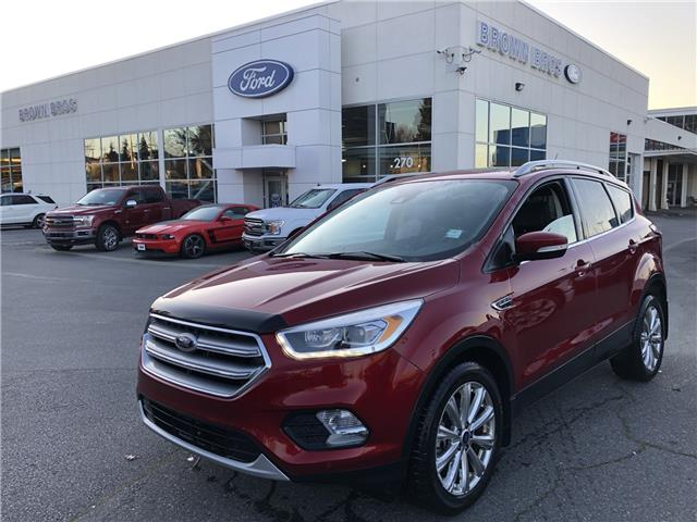 2017 Ford Escape Titanium 1FMCU9J96HUD22225 OP19457 in Vancouver
