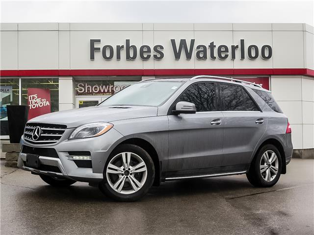 Used 2015 Mercedes-Benz M-Class Base  - Waterloo - Forbes Waterloo Toyota