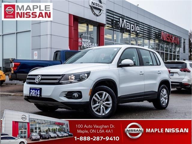 2014 Volkswagen Tiguan Comfortline|AWD|Alloys|Bluetooth|Keyless Entry (Stk: M19K092A) in Maple - Image 1 of 23