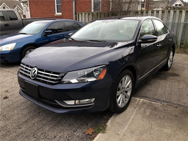 2012 Volkswagen Passat 2.0 TDI Highline (Stk: 07885) in Belmont - Image 1 of 18