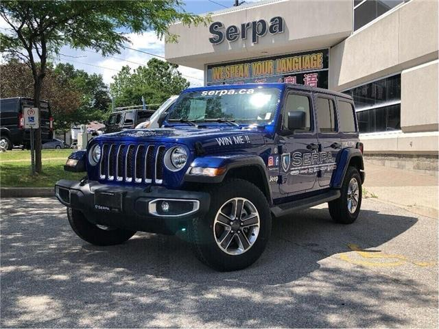2018 Jeep Wrangler Unlimited Sahara (Stk: 184105DT) in Toronto - Image 1 of 19