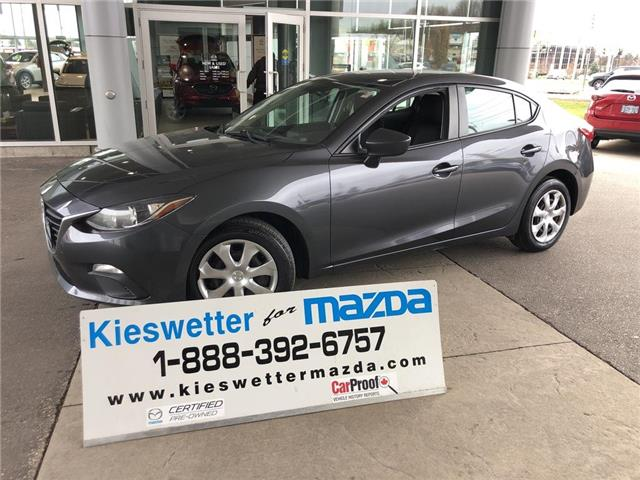 2015 Mazda Mazda3 GX (Stk: U3918) in Kitchener - Image 1 of 25