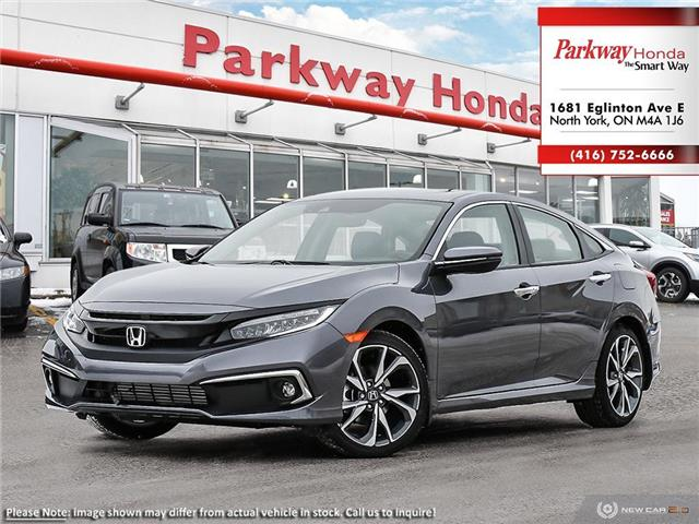 2020 Honda Civic Touring (Stk: 26075) in North York - Image 1 of 23