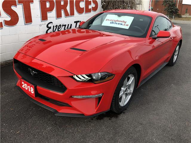 2018 Ford Mustang EcoBoost (Stk: 19-801) in Oshawa - Image 1 of 10