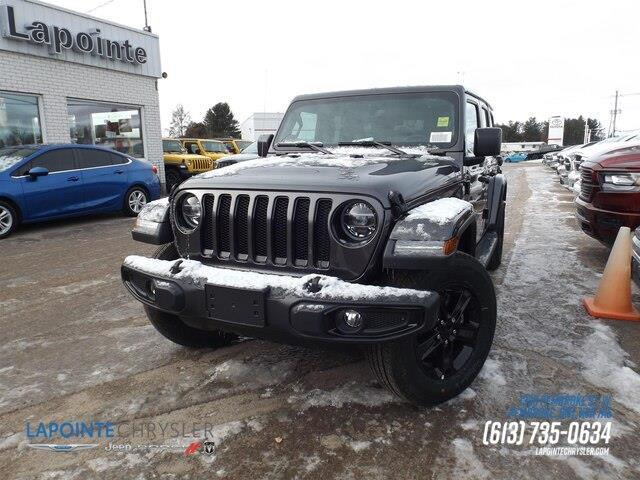 2020 Jeep Wrangler Unlimited Sahara (Stk: 20035) in Pembroke - Image 1 of 25