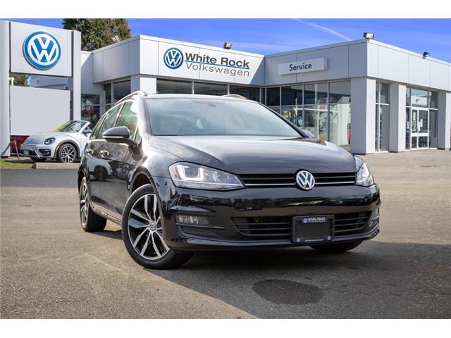 2016 Volkswagen Golf Sportwagon 1.8 TSI Comfortline (Stk: VW1038) in Vancouver - Image 1 of 22