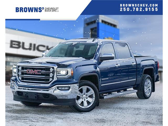 2018 GMC Sierra 1500 SLT (Stk: T19-422A) in Dawson Creek - Image 1 of 16
