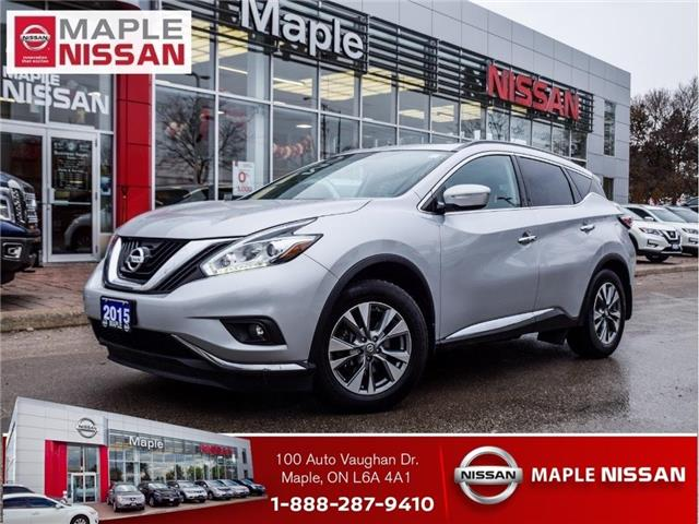 2015 Nissan Murano SV|AWD|Navi|Sunroof|Heated Seats|Backup Camera (Stk: LM436) in Maple - Image 1 of 26