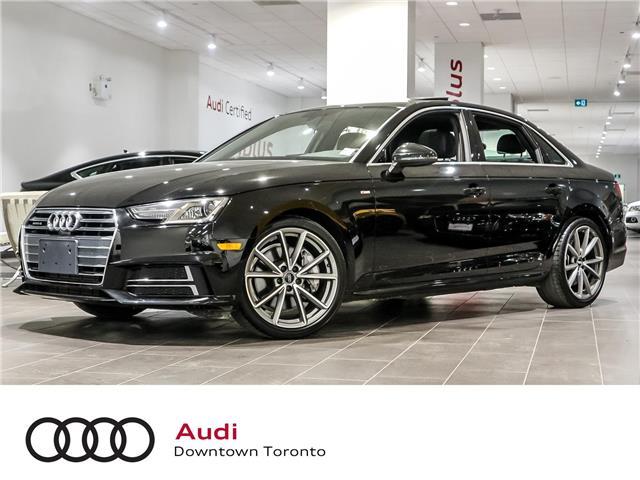 2017 Audi A4 2.0T Progressiv (Stk: P3578) in Toronto - Image 1 of 28