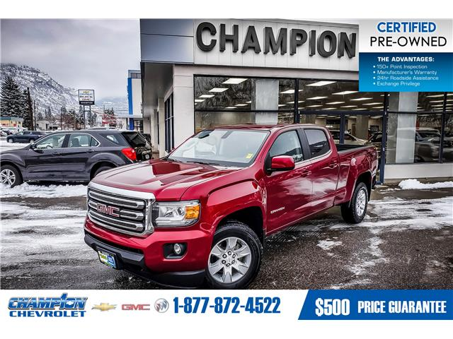 2017 GMC Canyon SLE (Stk: P19-297) in Trail - Image 1 of 14