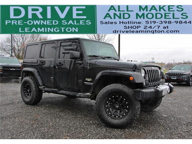 2014 Jeep Wrangler Unlimited Sahara (Stk: D0218) in Leamington - Image 1 of 20
