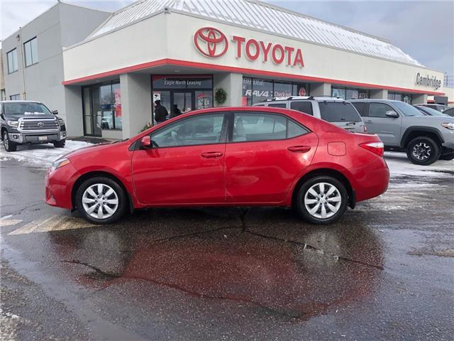 2016 Toyota Corolla  (Stk: P0056200) in Cambridge - Image 1 of 15