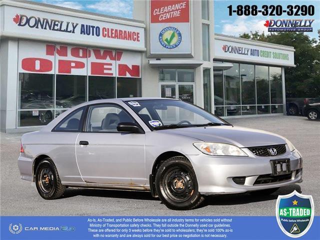 2005 Honda Civic  (Stk: PBWDUR6222A) in Ottawa - Image 1 of 28