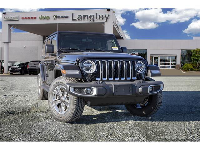 2020 Jeep Wrangler Unlimited Sahara (Stk: L177203) in Surrey - Image 1 of 21