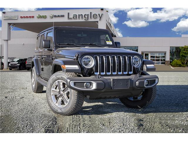 2020 Jeep Wrangler Unlimited Sahara (Stk: L177206) in Surrey - Image 1 of 22