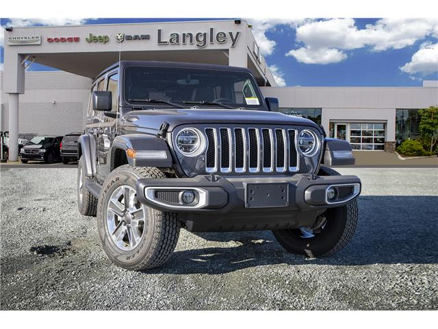 2020 Jeep Wrangler Unlimited Sahara (Stk: L177310) in Surrey - Image 1 of 21