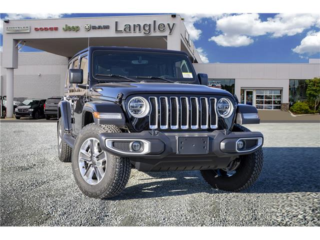 2020 Jeep Wrangler Unlimited Sahara (Stk: L178285) in Surrey - Image 1 of 21