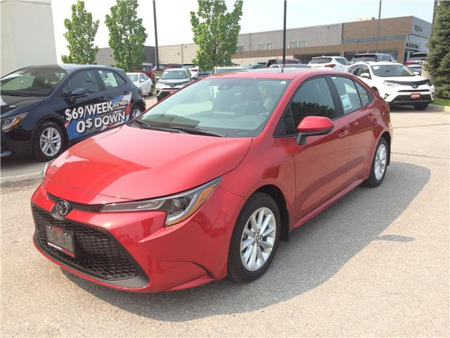 2020 Toyota Corolla LE (Stk: 3701) in Barrie - Image 1 of 14