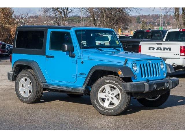 2018 Jeep Wrangler JK Sport (Stk: 27134U) in Barrie - Image 1 of 22