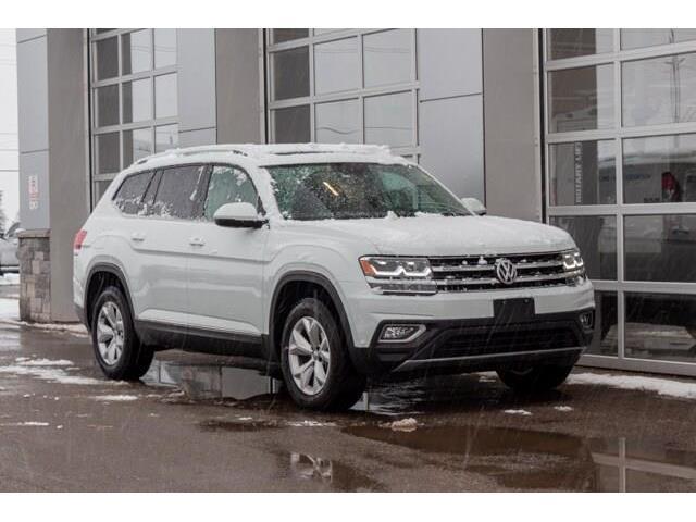 2019 Volkswagen Atlas 3.6 FSI Highline (Stk: 43201AU) in Innisfil - Image 1 of 22
