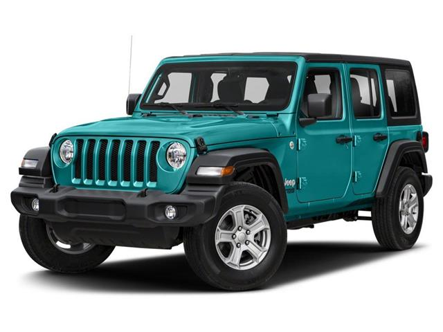 2020 Jeep Wrangler Unlimited Sahara (Stk: L178294) in Surrey - Image 1 of 9