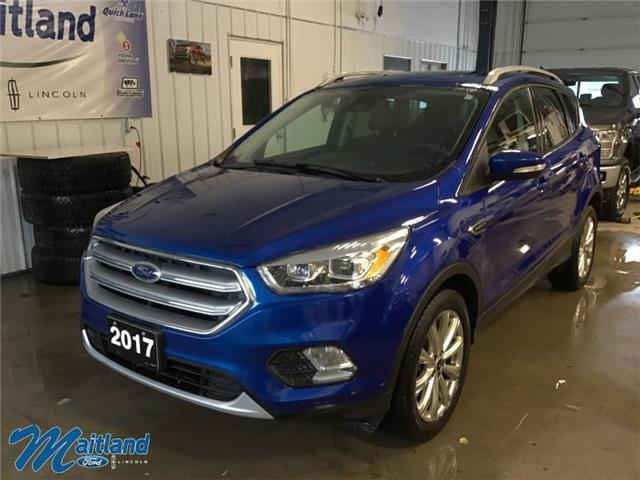 2017 Ford Escape Titanium (Stk: XB2891) in Sault Ste. Marie - Image 1 of 30