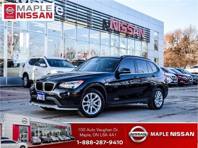 2015 BMW X1 X1 xDrive28i|Bluetooth|Leather|Alloys|Moonroof (Stk: M18G002AA) in Maple - Image 1 of 23