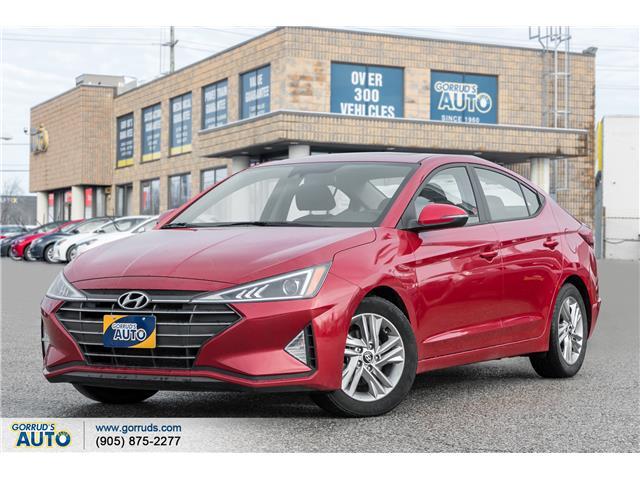 2019 Hyundai Elantra Preferred (Stk: 750595) in Milton - Image 1 of 18