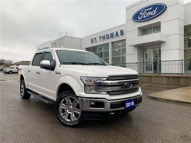 2018 Ford F-150 Lariat (Stk: T9718A) in St. Thomas - Image 1 of 28