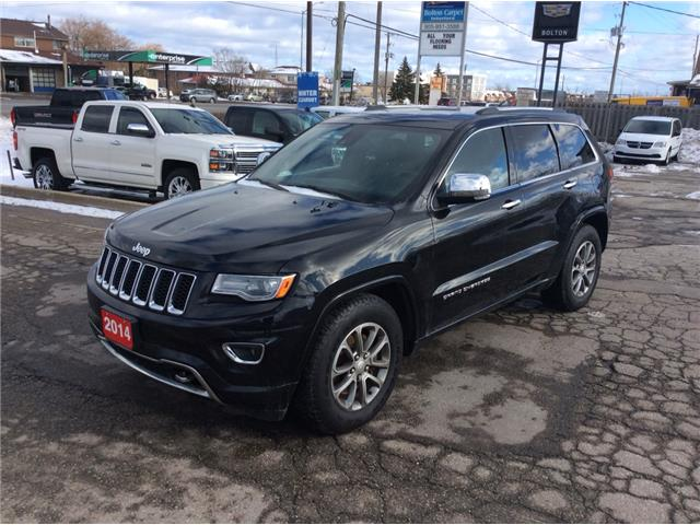 2014 Jeep Grand Cherokee Overland (Stk: 1114P) in Bolton - Image 1 of 11