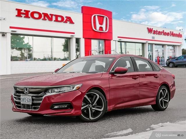 2019 Honda Accord Sport 1.5T (Stk: H4870) in Waterloo - Image 1 of 27