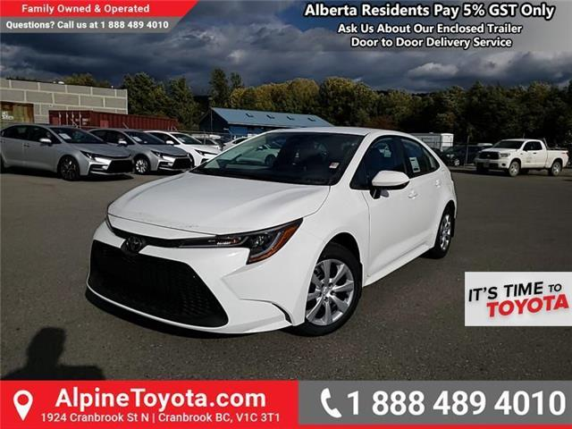 2020 Toyota Corolla LE (Stk: P058202) in Cranbrook - Image 1 of 21