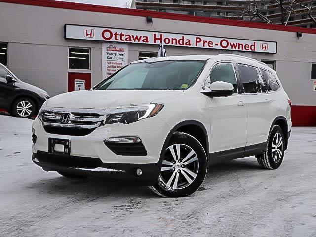 2017 Honda Pilot EX-L Navi (Stk: H8048-0) in Ottawa - Image 1 of 26