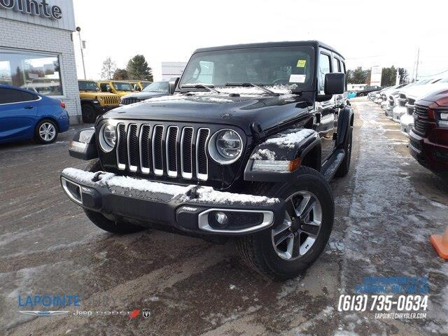 2020 Jeep Wrangler Unlimited Sahara (Stk: 20067) in Pembroke - Image 1 of 24