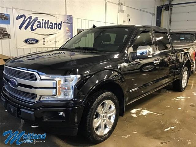 2018 Ford F-150 Platinum (Stk: 94081) in Sault Ste. Marie - Image 1 of 30