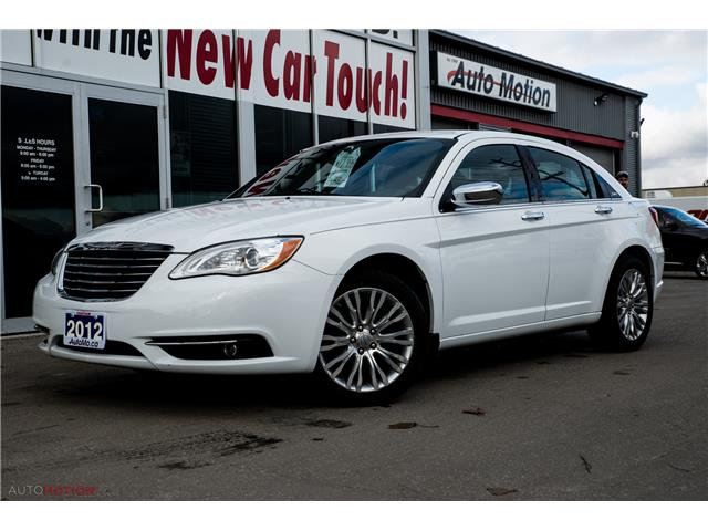 2012 Chrysler 200 Limited (Stk: 191370) in Chatham - Image 1 of 26