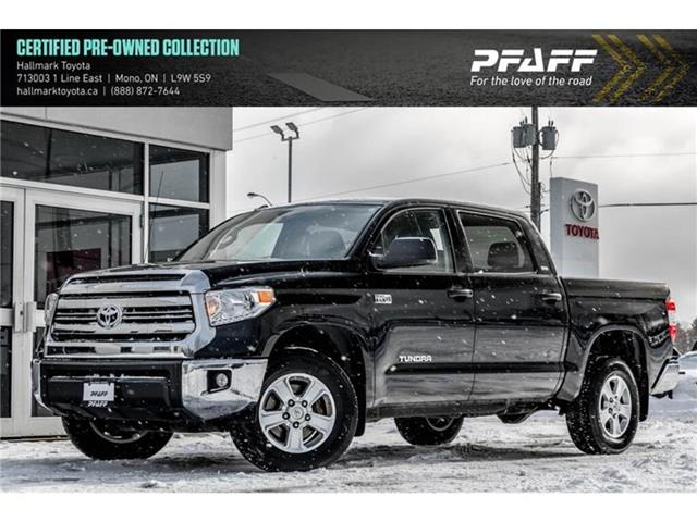 2017 Toyota Tundra 4x4 CrewMax SR5 Plus 5.7 6A (Stk: H20240A) in Orangeville - Image 1 of 21
