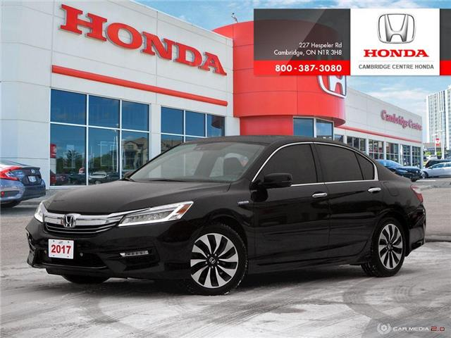 2017 Honda Accord Hybrid Touring (Stk: 19909A) in Cambridge - Image 1 of 27