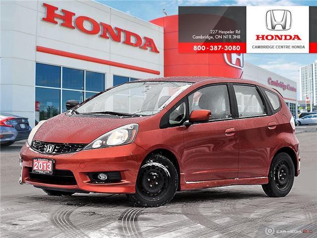 2013 Honda Fit Sport (Stk: 20539A) in Cambridge - Image 1 of 27