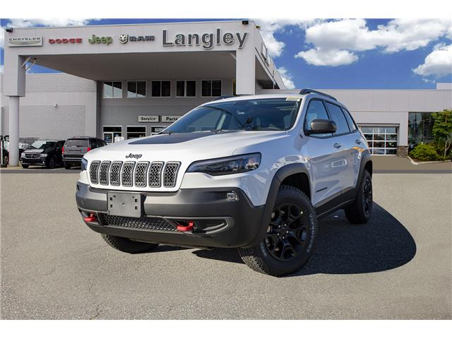 2020 Jeep Cherokee Trailhawk (Stk: L544270) in Surrey - Image 1 of 20
