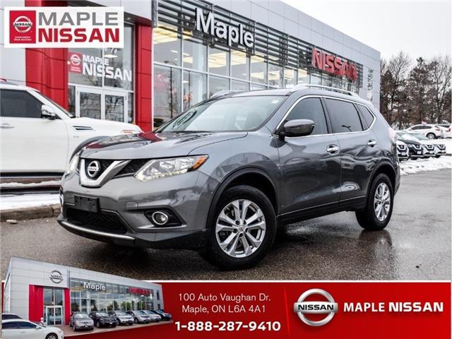2016 Nissan Rogue SV AWD|Backup Camera|Heated Seats|Alloys|Moonroof (Stk: M20R101A) in Maple - Image 1 of 25