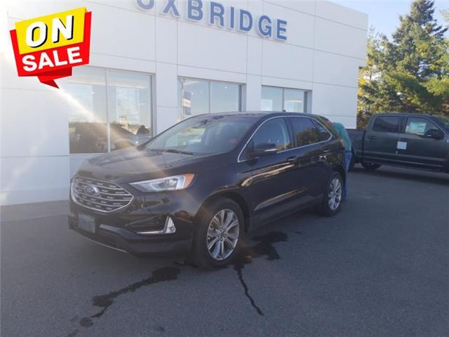 2019 Ford Edge Titanium AWD (Stk: P1355) in Uxbridge - Image 1 of 22