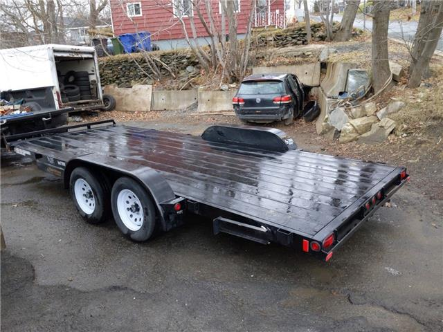 2020 Rainbow 18 foot  car trailer with 2 3500 lb axles  (Stk: ) in Dartmouth - Image 1 of 10